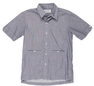 Thom Browne Striped Short Sleeve Shirt
