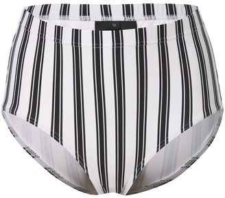 Cynthia Rowley Loren striped bikini bottoms