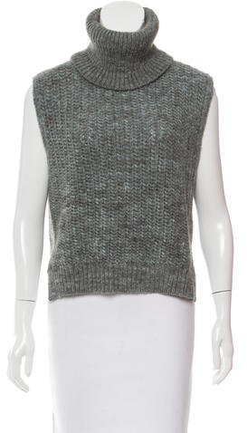 3.1 Phillip Lim 3.1 Phillip Lim Sleeveless Turtleneck Sweater