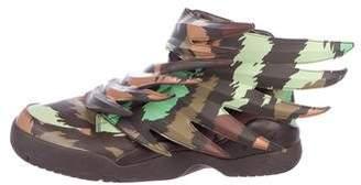 Jeremy Scott x Adidas Wings 3.0 Camo Sneakers