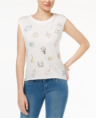 Disney Beauty and the Beast Juniors' Enchanted Graphic T-Shirt $29 thestylecure.com