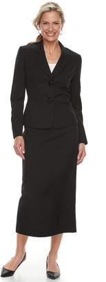Le Suit Women's Jacket & Midi Skirt Suit