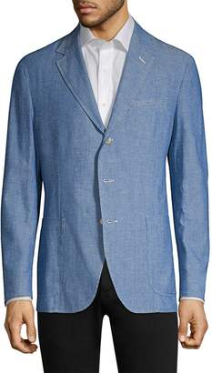 Ralph Lauren Classic-Fit Cotton Chambray Sportcoat