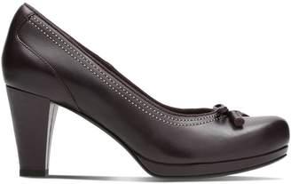 Clarks Chorus Bombay Leather Heels