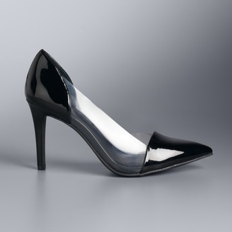 4467d242be20 Vera Wang Simply Vera New Lucite Women s Pumps