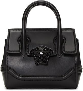 Versace Black Mini Palazzo Empire Bag $1,495 thestylecure.com