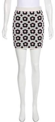 J.W.Anderson Intarsia Mini Skirt
