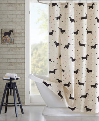 Jla Home HipStyle Olivia Printed Cotton Shower Curtain Bedding