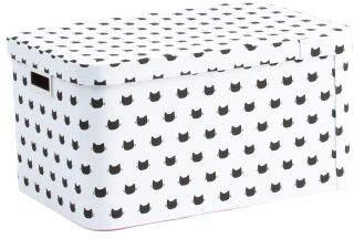 Large Lidded Kitty Storage Bin