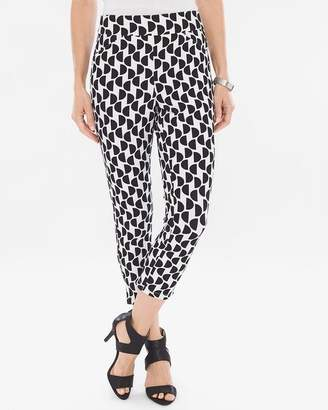 Travelers Collection Dot Crepe Crops