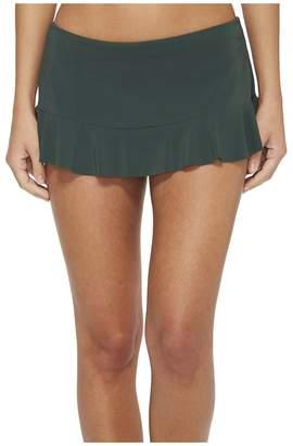 Robin Piccone Lina Ruffle Skirted Bikini Bottom Women's Swimwear