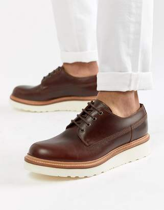 Grenson Augustin lace up shoes in brown leather