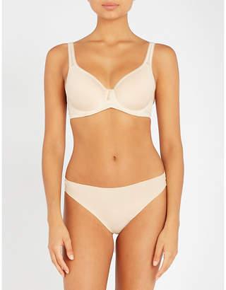 Wacoal Basic Beauty jersey underwired contour bra