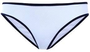 Heidi Klein Pique Low-rise Bikini Briefs