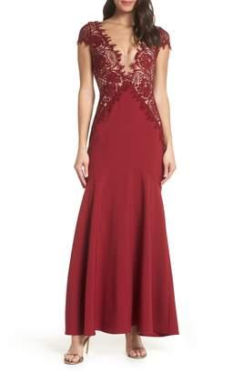 Foxiedox Amare Trumpet Evening Dress
