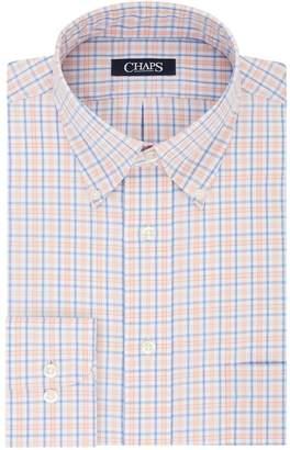 Chaps Men's Regular-Fit Plaid No-Iron Dress Shirt