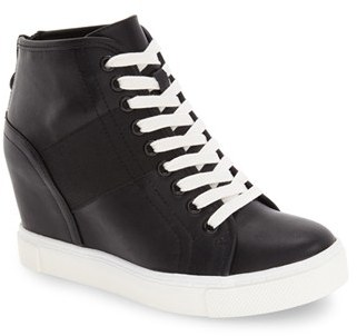 Steve Madden 'Lussious' Hidden Wedge Sneaker $89.95 thestylecure.com