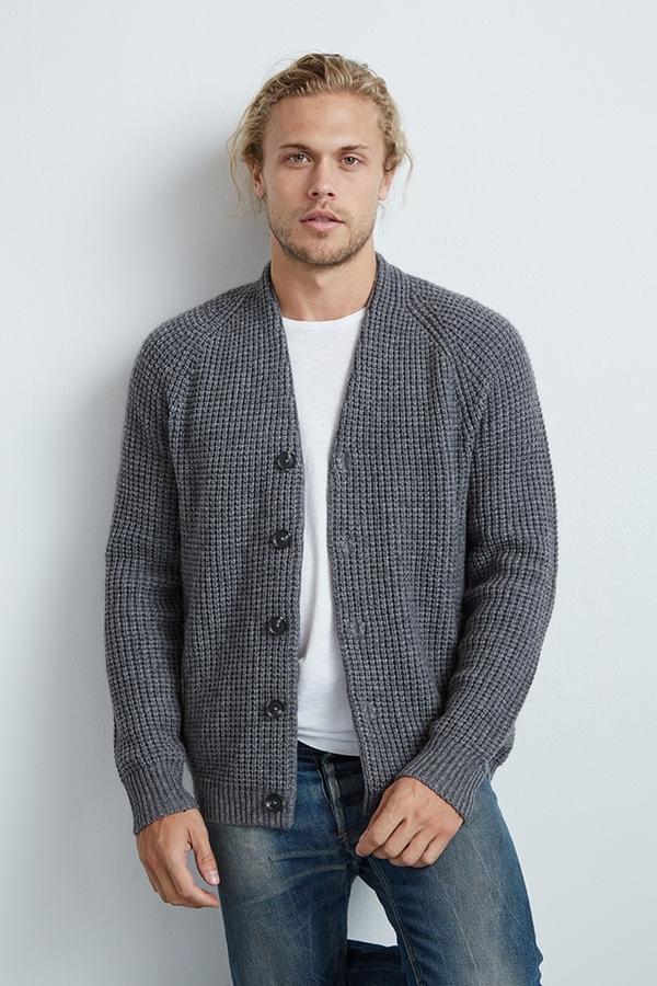 Daulton Wool Blend Cardigan