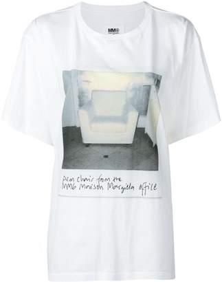 MM6 MAISON MARGIELA (エムエム6 メゾン マルジェラ) - Mm6 Maison Margiela プリント Tシャツ
