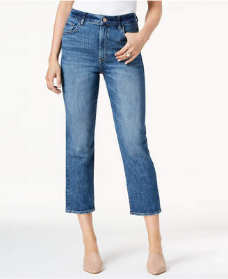 M1858 Mia High-Rise Cropped Straight-Leg Jeans, Created for Macy's