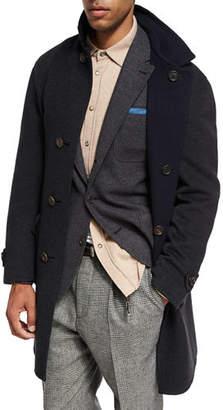 Brunello Cucinelli Reversible Cashmere Overcoat
