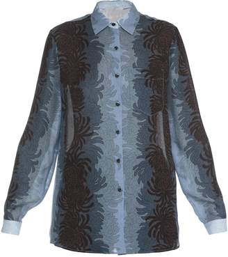 Marco De Vincenzo Silk Shirt