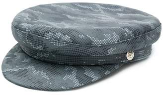 Manokhi dot print Biker hat