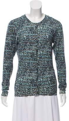 Dolce & Gabbana Wool Printed Cardigan w/ Tags