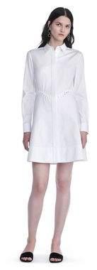 Alexander Wang Peplum Shirt Dress