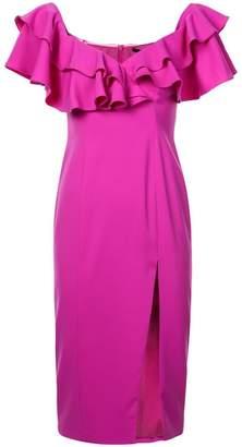 Jay Godfrey Prairie ruffled detail dress