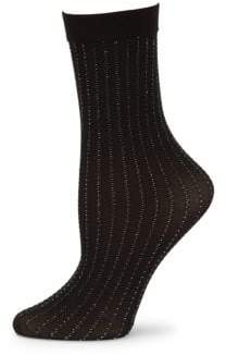 Wolford Sparkle Strip Socks