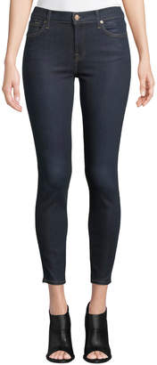 7 For All Mankind B(Air) Coated Ankle Skinny Jeans