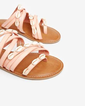 Express Strappy Shell Sandals