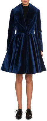 Alaia Velvet Princess Coat