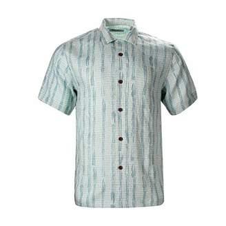 Havana Breeze Men's Relaxed-Fit 100% Linen Shirt S