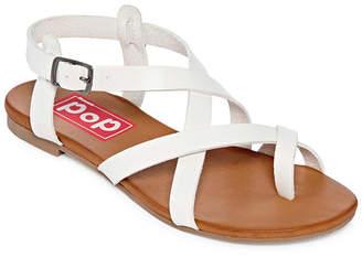 POP Womens Calley Strap Sandals