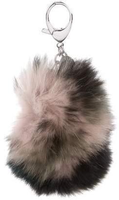 Rebecca Minkoff Fox Fur Bag Charm