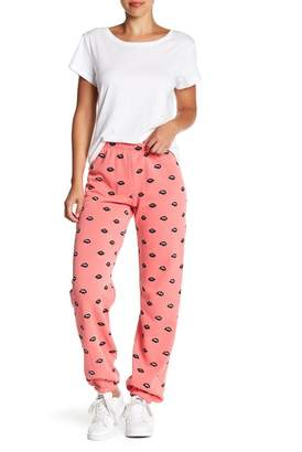 Wildfox Couture Lip Service Easy Sweatpants