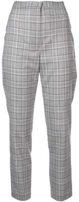 Milly slim checked trousers