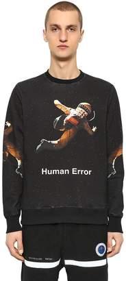 Undercover Printed Cotton Jersey Sweatshirt