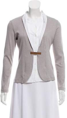 Fabiana Filippi Long Sleeve Layered Cardigan