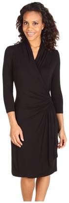 Karen Kane Cascade Wrap Dress Women's Dress