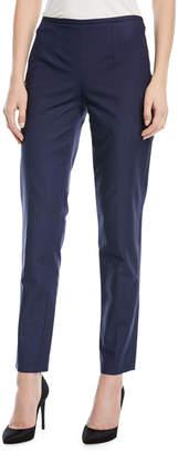 Michael Kors Straight-Leg Side-Zip Pants