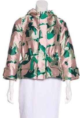 Moncler Jacquard Hooded Jacket
