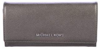 MICHAEL Michael Kors Saffiano Jet Set Travel Wallet w/ Tags