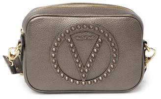 Mario Valentino Valentino By Mia Rock Studded Leather Crossbody Bag