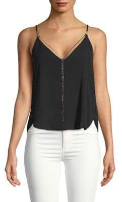 Kenneth Cole Sleeveless Chain Top