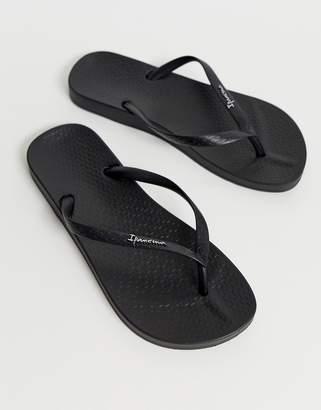 61098f45f03638 Ipanema Black Flip Flop Sandals For Women - ShopStyle UK