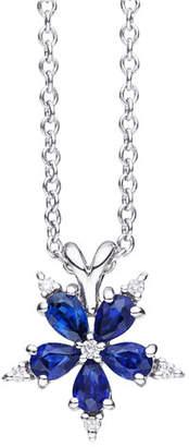 Paul Morelli Mini Stellanise Sapphire & Diamond Pendant Necklace