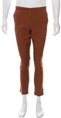 Theory Cropped Flat Front Pants
